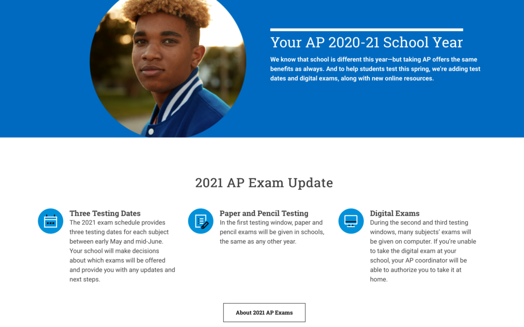 2021 AP Exams: How the Pandemic Has Changed the Tests