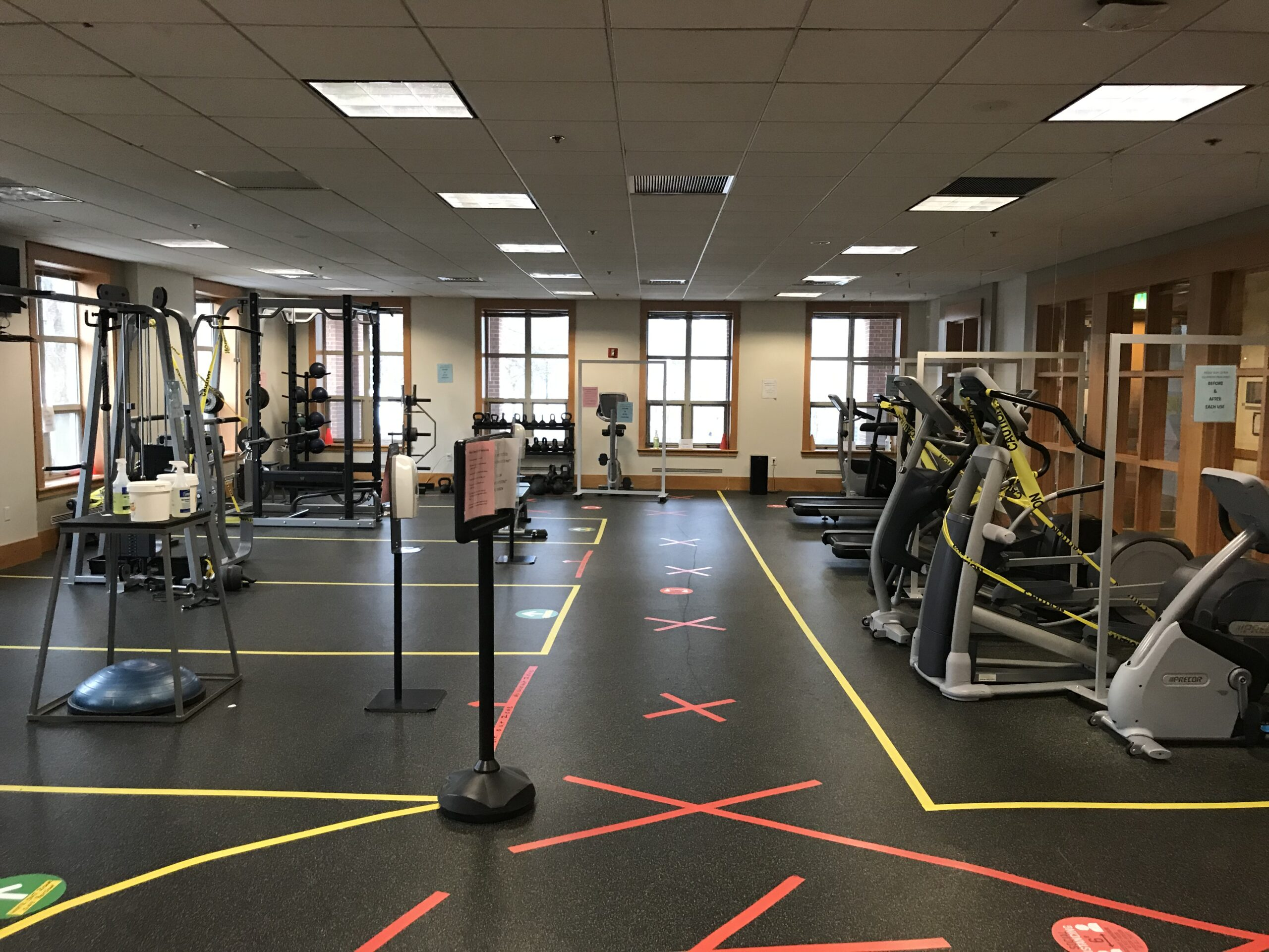 CA Gyms Back Open