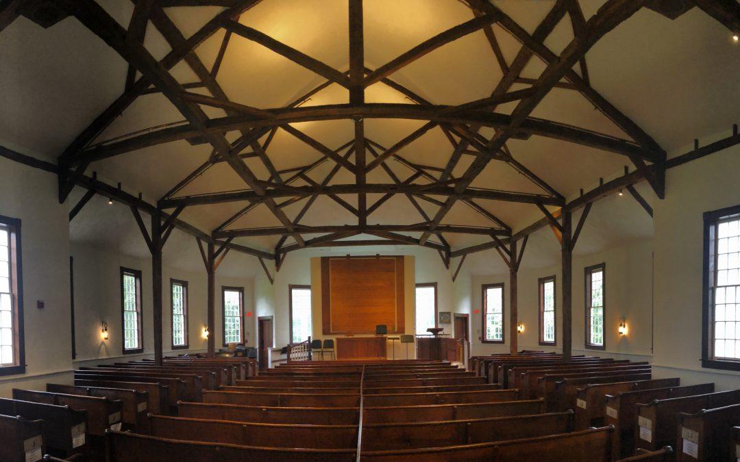 The Underclassmen's Chapel Tent Experience